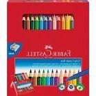 Faber Castell - Coloured Pencil Jumbo Grip & Grip Colour Mar