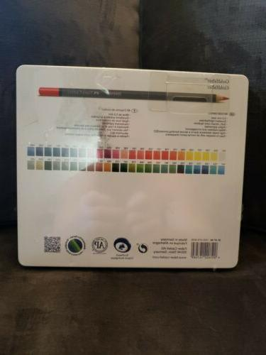 Faber-Castell Goldfaber Colored Pencil Set In Metal Tin
