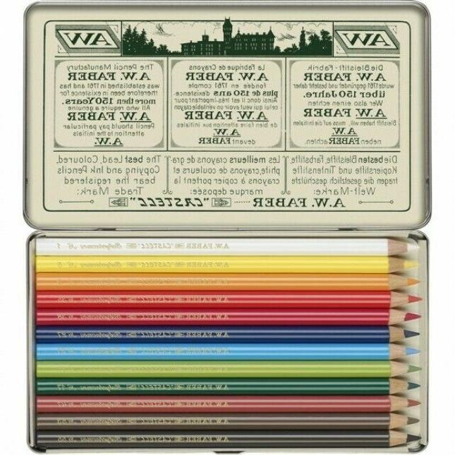 FABER CASTELL LIMITED POLYCHROMOS ARTIST SET TIN