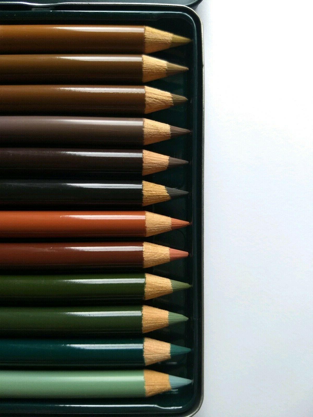 Faber Castell 12 Artist Color Pencils - Nature NOS
