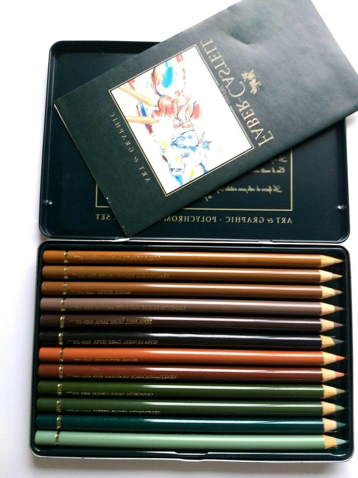 Faber Castell 12 Artist Color Pencils - Set