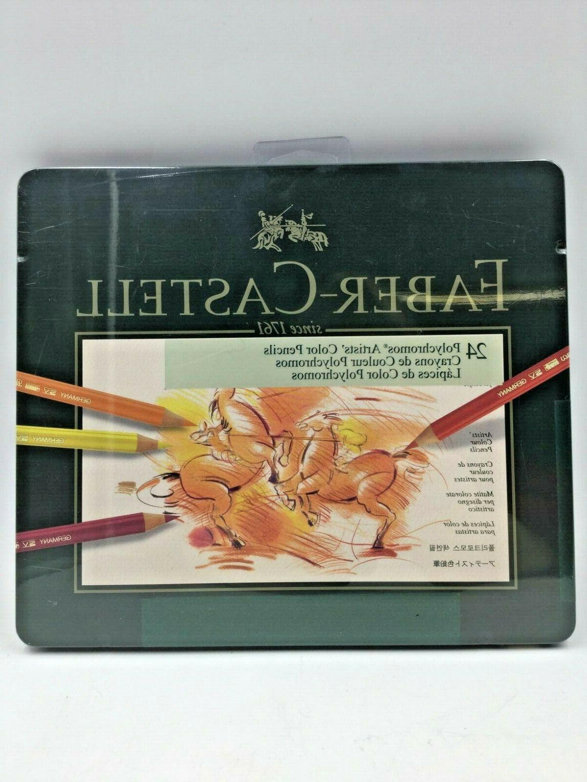 faber castell polychromos artists color pencils set