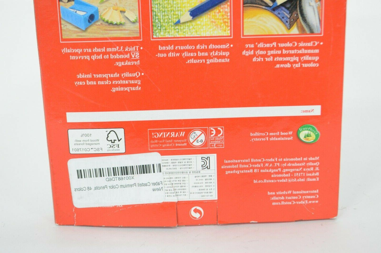 Faber Castell Pencils, 48 Colour Faber