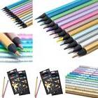 Fashion 12 Colors Metallic Pencils Drawing Sketching Finest