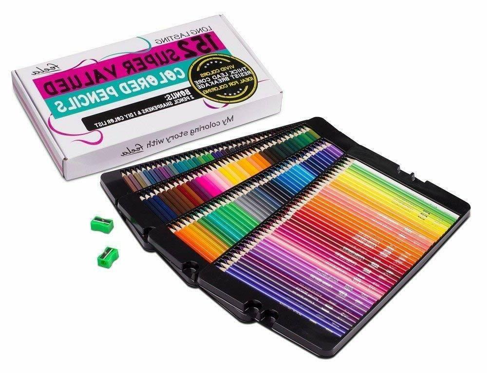 Feela Pencils with Pencil Sharpener Premium Soft Core
