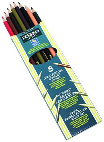friends multicultural pencil set