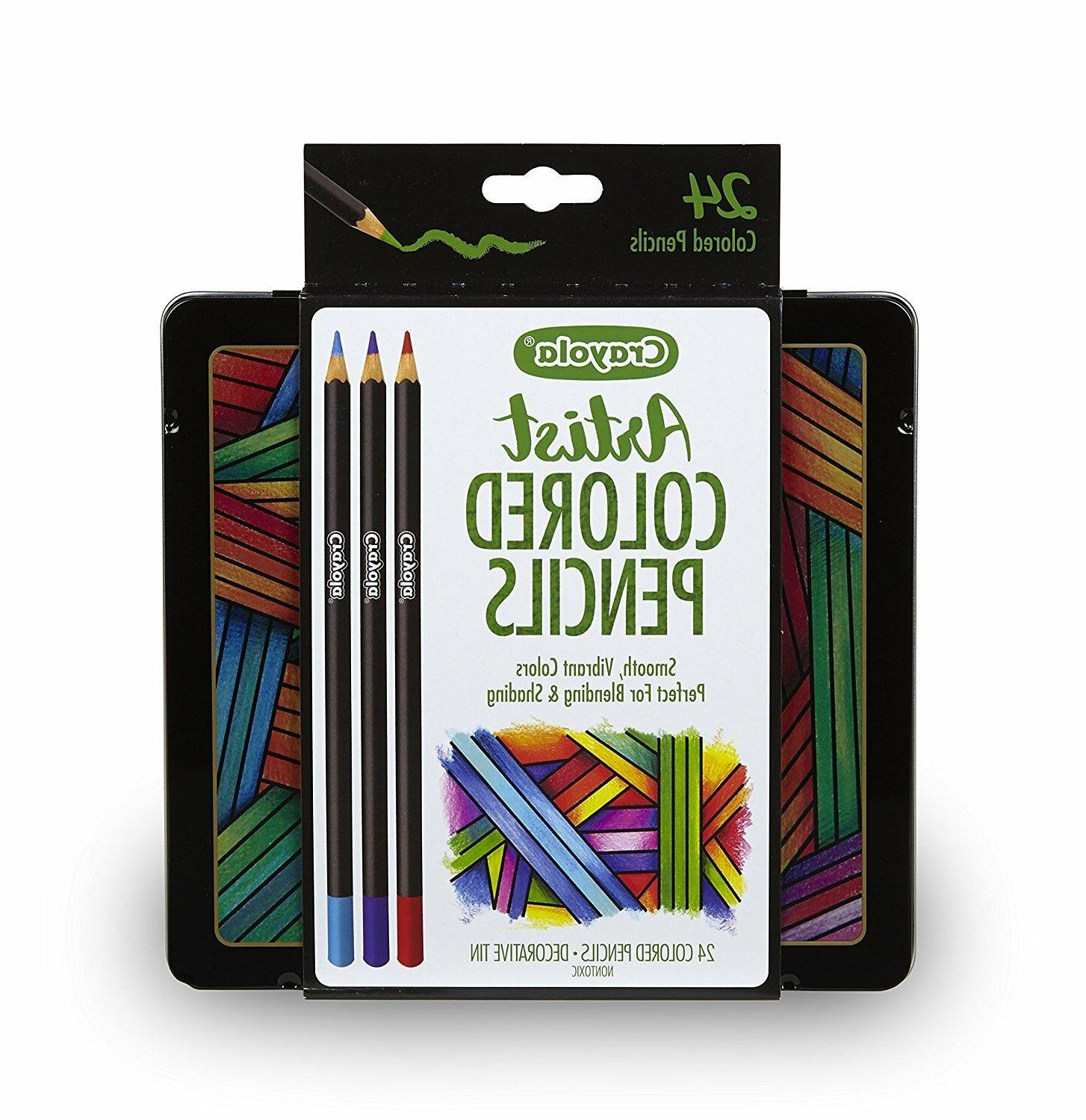 Crayola Artist Gel Colored Pencils Set, Professional Colorin