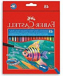 Faber-castell Highly Soluble Triangular Water Colour Pencils