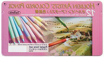 Holbein colored color pastel tone Japan w/Tracking