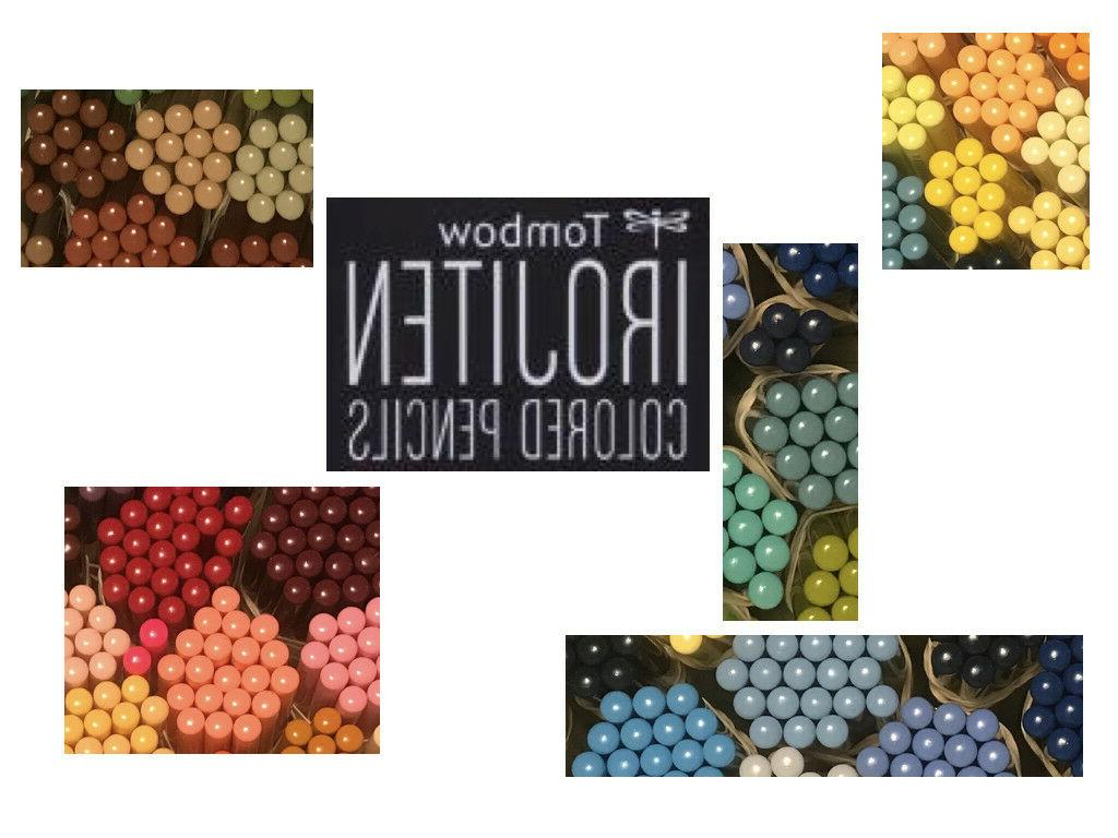 Tombow Irojiten Single Colored Pencil Woodlands Set Individu