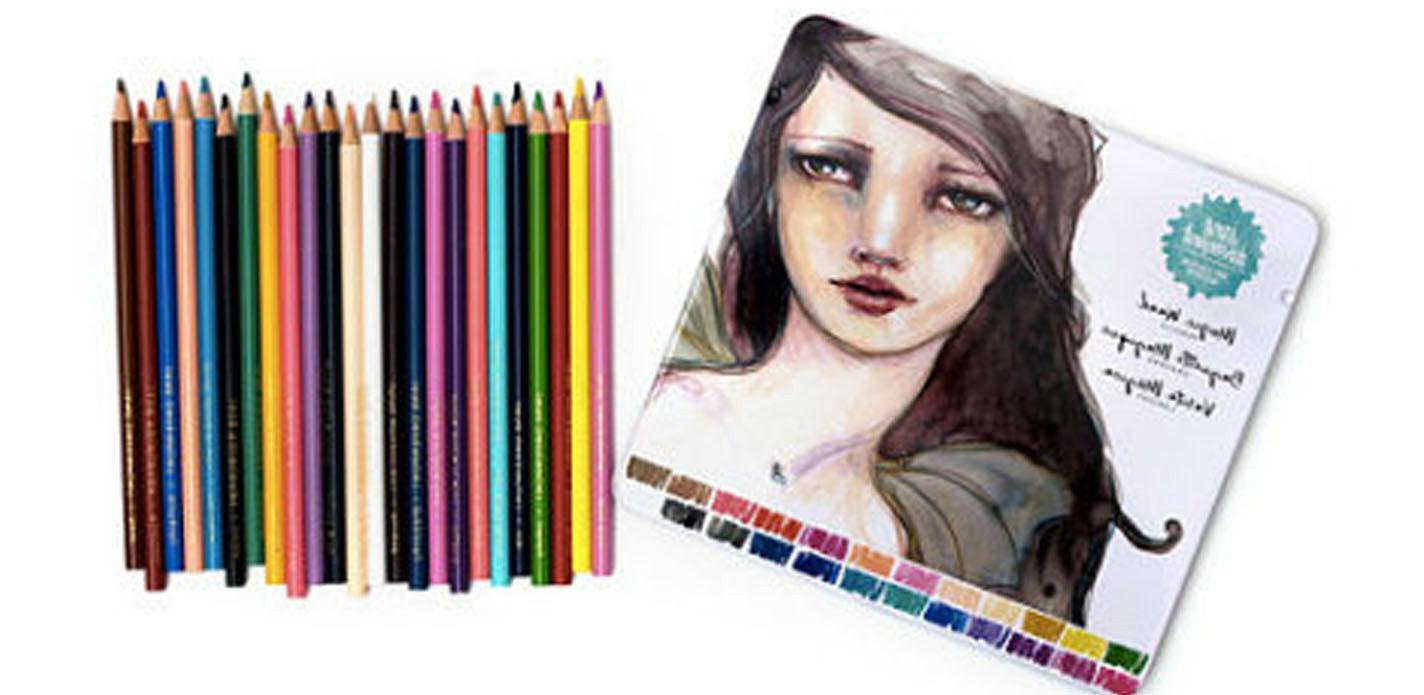 jane davenport magic wand colored pencils 24