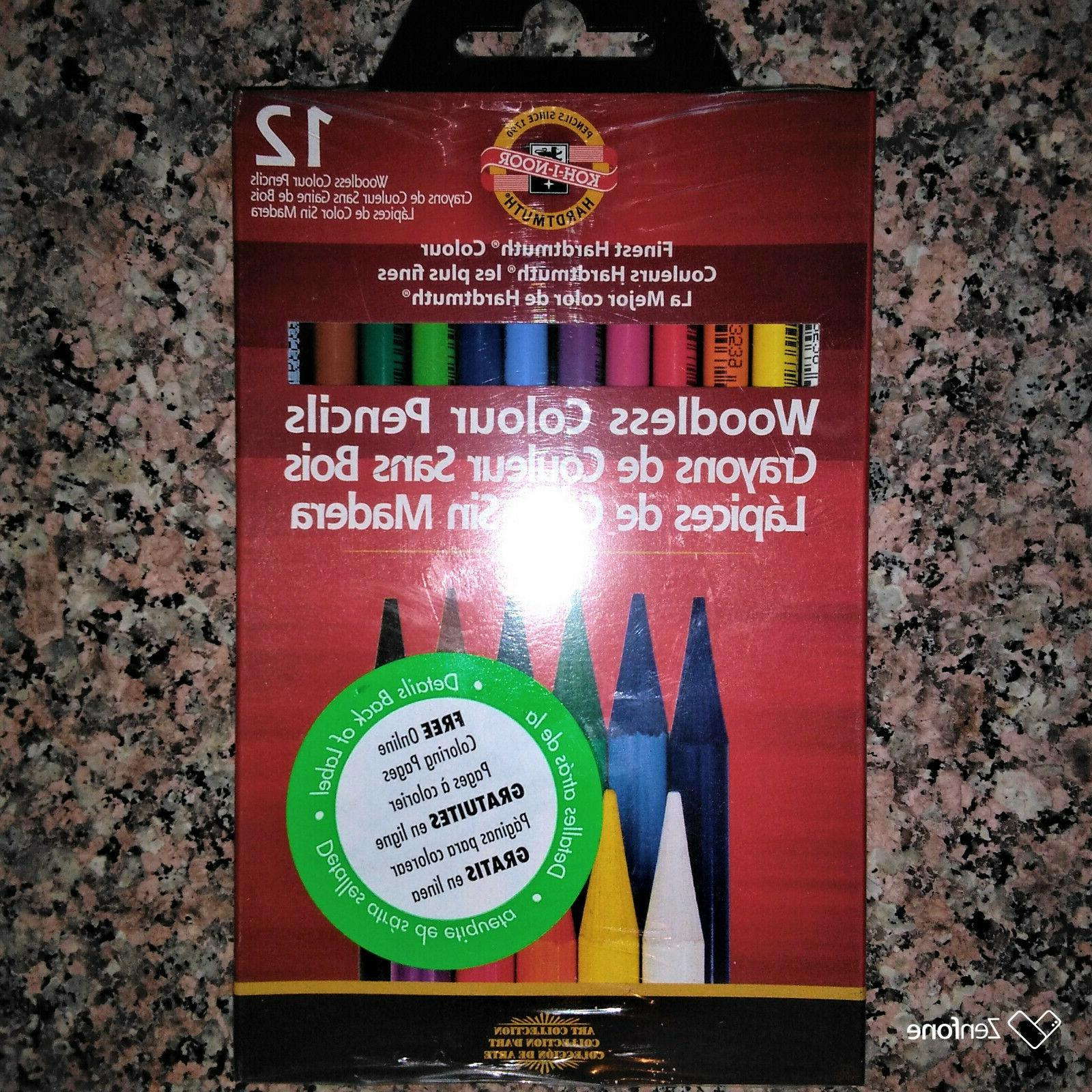 KOH-I-NOOR 2 Sets Sets of 24 Pencils Total