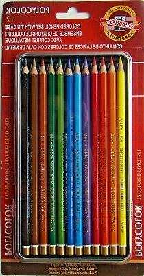 KOH-I-NOOR Hardtmuth Polycolor Colored Pencils Set/12 FA3816