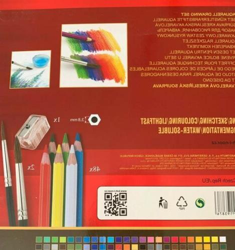 Set Water-Soluble Pencils