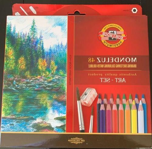 koh i noor mondeluz aquarell drawing set