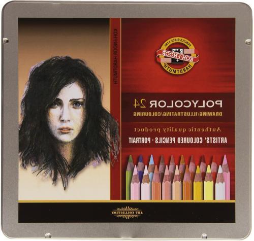 KOH-I-NOOR Polycolor Portrait Artist's Coloured Pencils Set