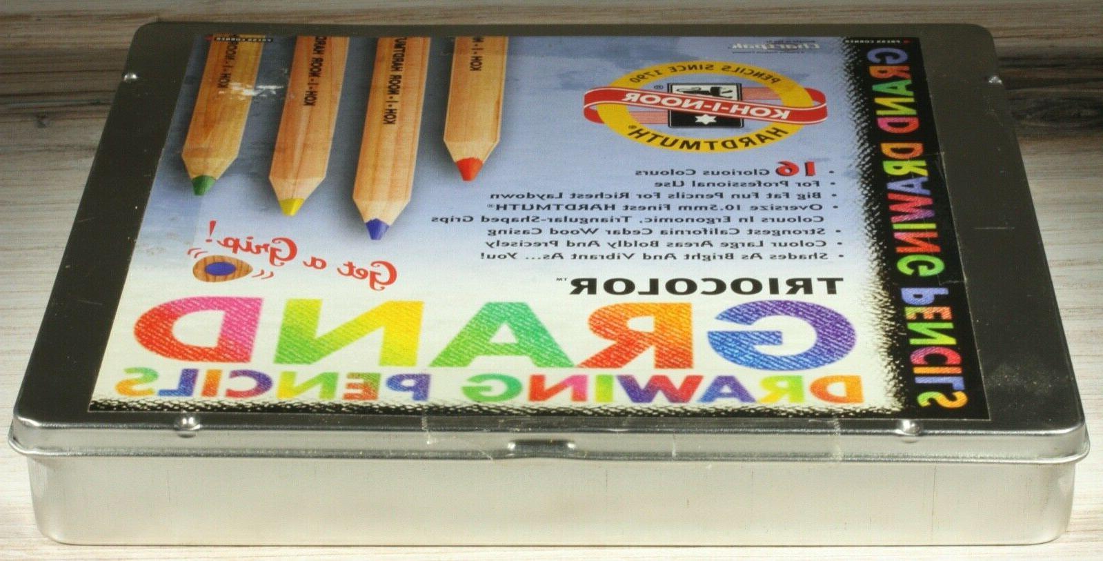 Koh-I-Noor Triocolor Pencils Set