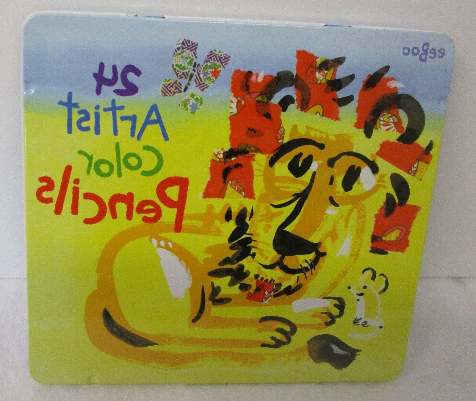 Eeboo Lion 24 Color Pencils