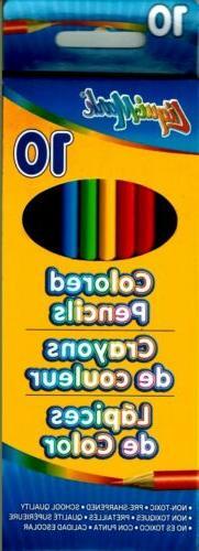 liqui mark colored pencils 1box set of