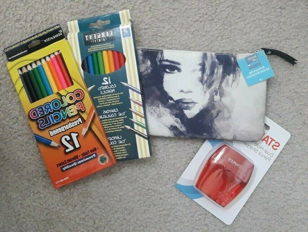 lot new art supplies sargent a homework