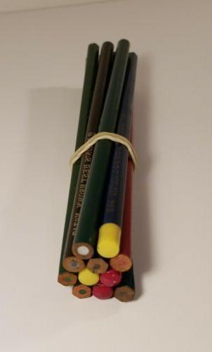 Lot 11 Colored Drawing Pencils- Seneca - - - Venus
