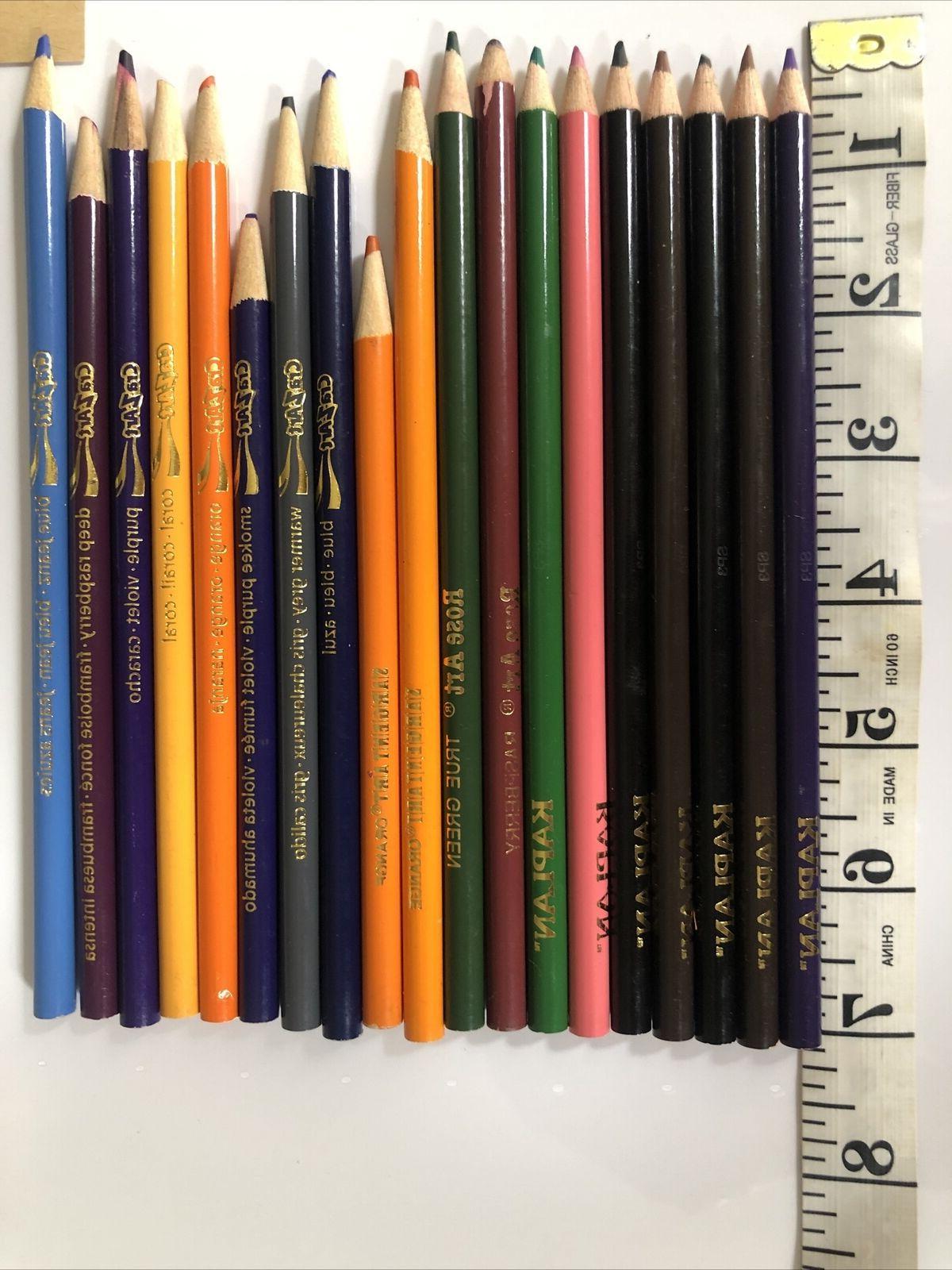 Lot of 35 Pencils Kaplan, Rose