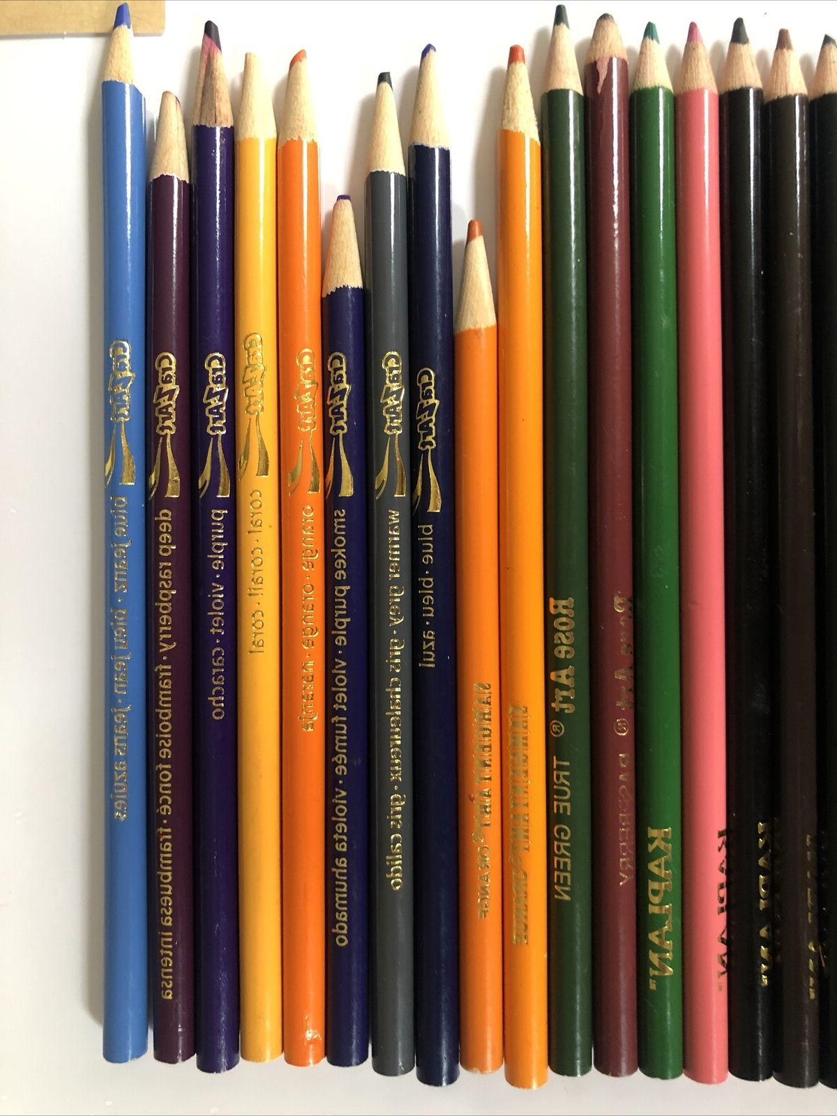 Lot 35 Pencils Kaplan, Rose