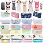 Lots Pencil Case Pen Pouch Box Bag Cases School Office Suppl
