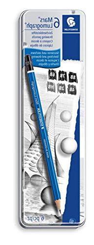 Staedtler Lumograph Graphite Drawing and Sketching Pencils 1