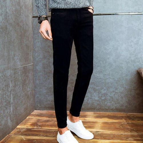 Men's Pants Skinny Trousers Cacual Pants Colors