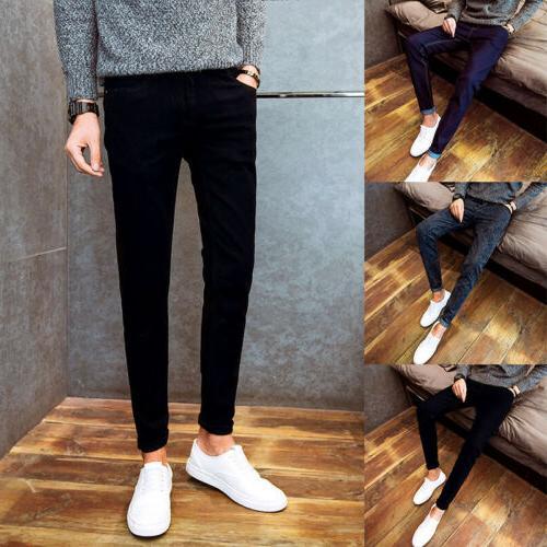 Men's Skinny Slim Trousers 3 Colors