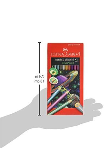 Metallic Colored Ecopencils-12/Pkg