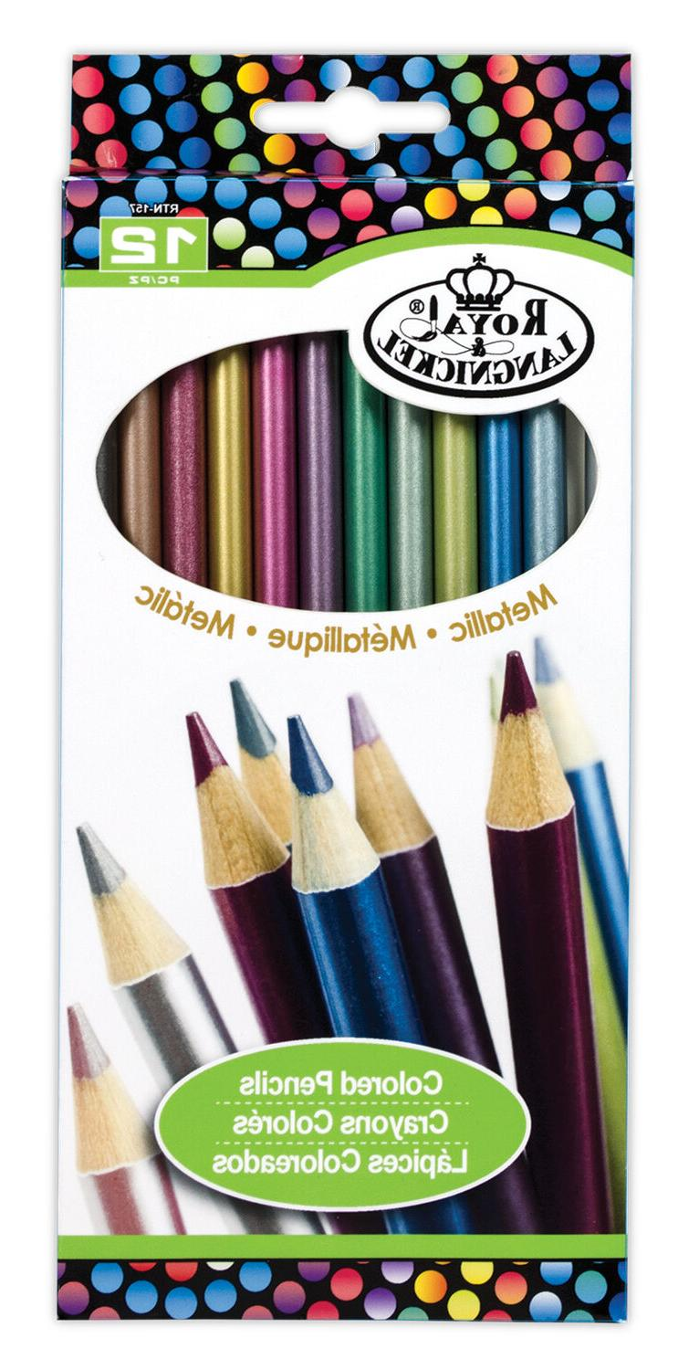 metallic pencils drawing set sketching