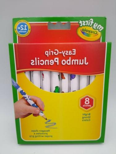 Crayola Grip Jumbo Decorated Pencils Pack Color