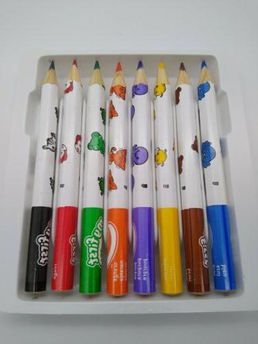 Crayola Easy Grip Jumbo Pencils 8 Bright Color