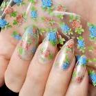 Nail Wholesale Products Nail Art DIY Decal Flower Nail Glue
