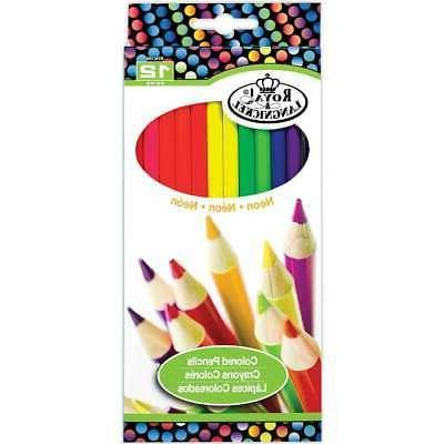 neon pencils 090672358790