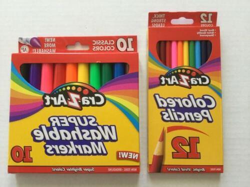 new cra z art color pencils