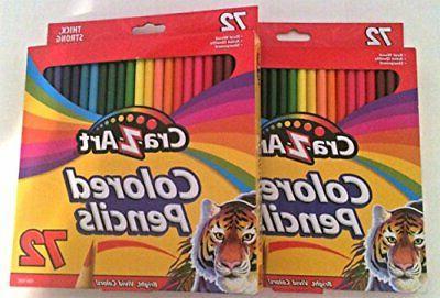 new cra z art colored pencils 72
