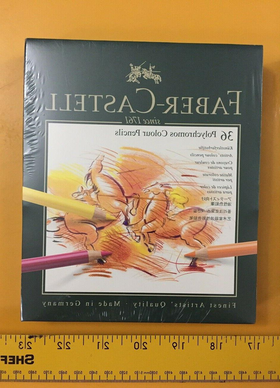 new faber castell polychromos colored pencils gift