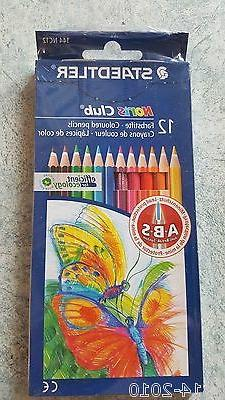 STAEDTLER Noris Club 12 Colored Pencils Extended length 17cm
