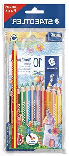 Staedtler Noris Club 61 8 Jumbo Coloured Pencils Pack of 1