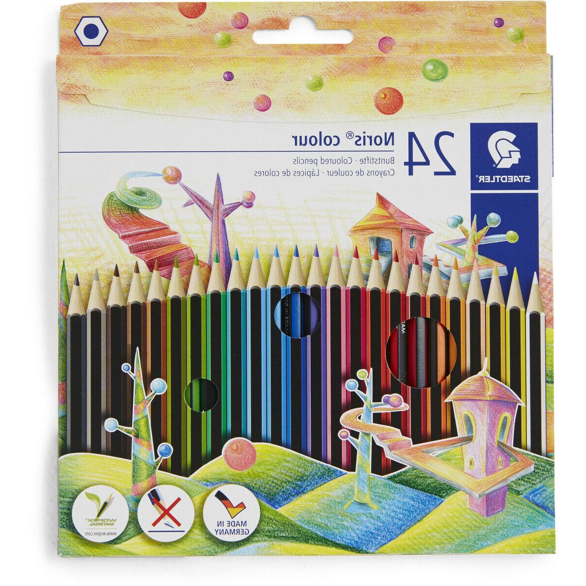 Staedtler Noris Club Made in Germany Coloured Pencils 24 Pac