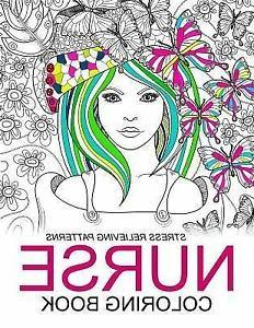 Nurse Coloring Books : Humorous Coloring Books for Grown-ups