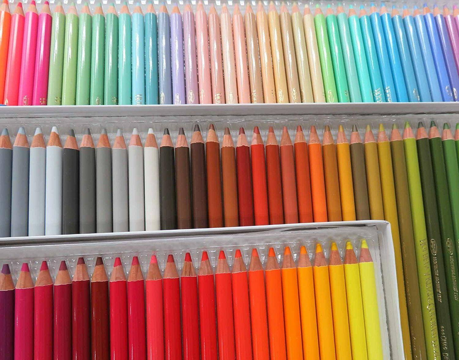 New Colored Pencil 100 Colors Supplies
