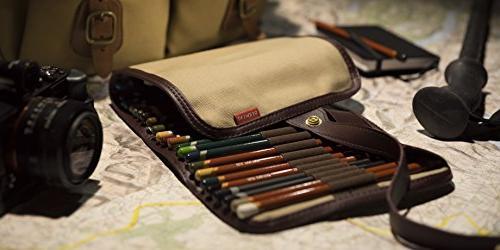 Derwent Case Pouch, Canvas, Pencil Colored