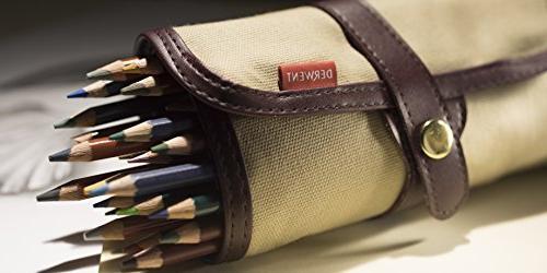 Derwent Pencil Pouch, Canvas, Pencil Pencil Holder