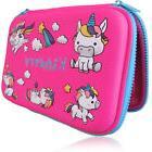 Pencil case, The original brand Kidberry, Pink, Unicorn girl
