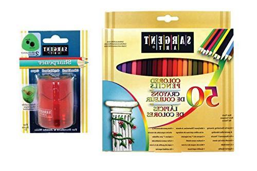 pencil sharpener combo pencils