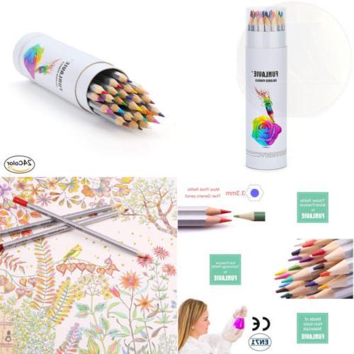 pencils 24 coloring drawing